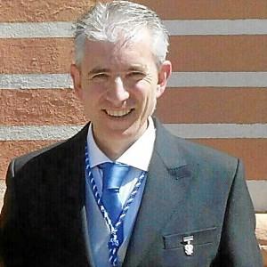 Rafa Domínguez, nuevo hermano mayor de La Redención.