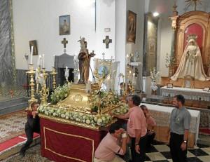 San Juan Bautista, en Linares.