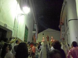 La procesión ha sido multitudinaria.