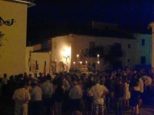 Un procesión con motivo del Año de Fe.