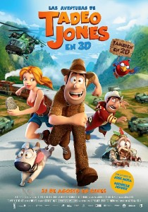 Se proyecta la película Tadeo Jones.