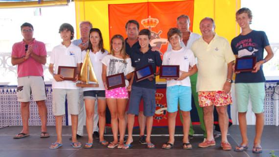 Vigo conquistó el Campeonato de España de Óptimist en el que el Real Club Marítimo y Tenis de Punta Umbría acabó séptimo