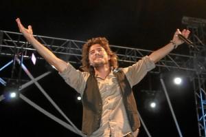 El premio del concurso era un concierto de Manuel Carrasco.