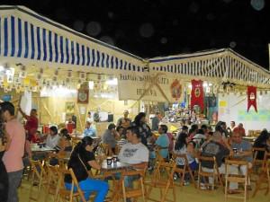 La cena de convivencia en la Borriquita fue todo un éxito.