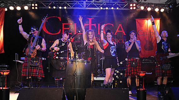 Celtica Pipes Rock actúa este sábado 10 de agosto en Cortegana