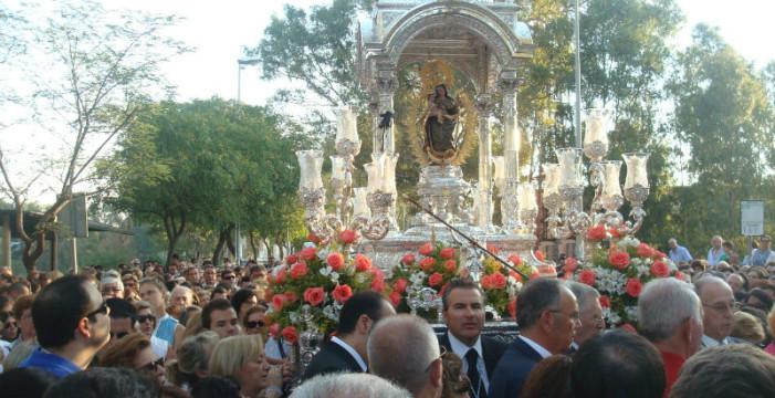 Las Fiestas de la Cinta continúan con la ofrenda floral a la Virgen y la actuación de Fangoria