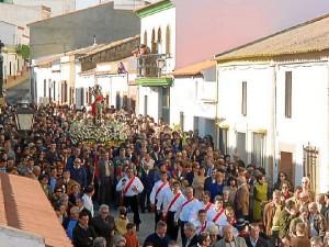 La procesión de San Bartolomé se celebra este sábado 24 de agosto.