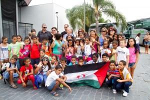 Este verano han sido 110 los niños saharauis que han disfrutado de las vacaciones en Huelva.