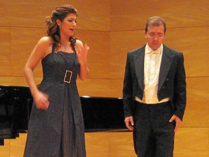 Eva del Moral y Guillermo Orozco ofrecen un concierto lírico en la Fundación de la Caja Rural del Sur en Huelva