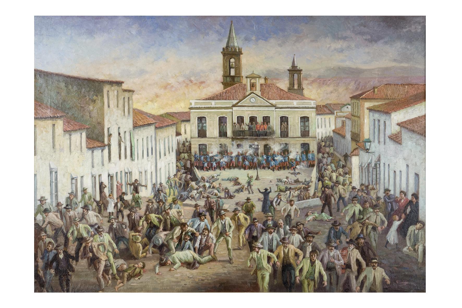 La muestra permanecerá en el Museo Vázquez Díaz hasta el dos de septiembre.