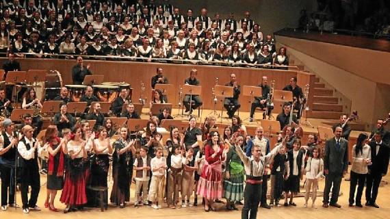 Guillermo Orozco representa la ópera 'Carmen' en el Teatro Romano de Mérida