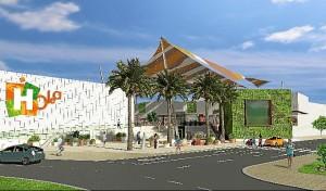 Recreación del Centro Comercial Holea.