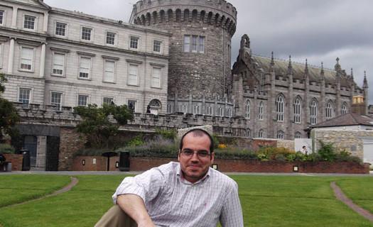 Juan Manuel Barba, un historiador versado en Doñana que busca en Irlanda nuevos horizontes profesionales