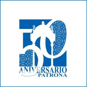 Logo realizado con motivo de la celebración del Cincuentenario.