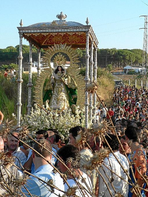 La Virgen de Montemayor llegará a Moguer en unos días.