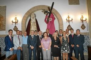 Nueva junta de gobierno de la Hermadnad de la Redención de Huelva.