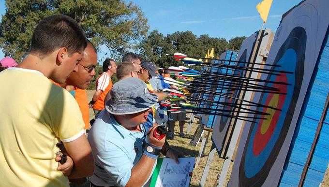 El tiro con arco abre el amplio calendario deportivo del fin de semana de la Colombinas.