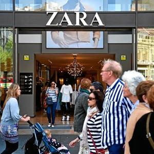 Zara está presente en todo el mundo.