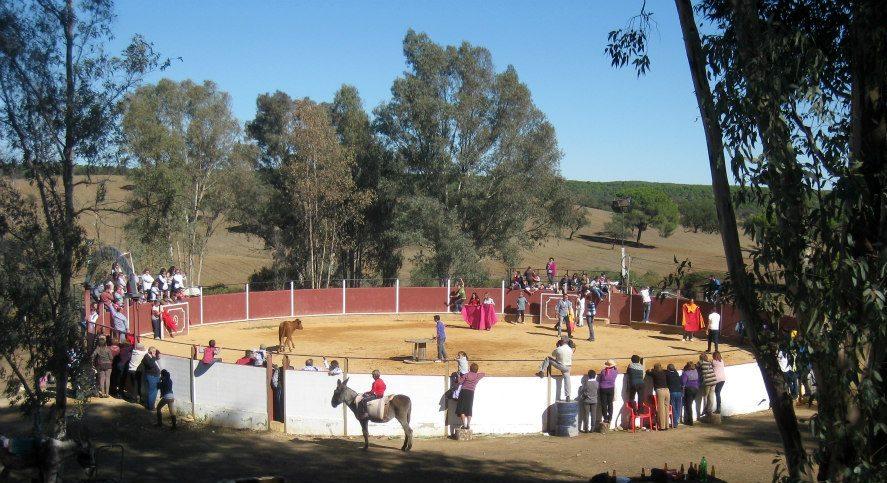 Imagen de la I Capea Arribera en la finca 'La Pastora'.