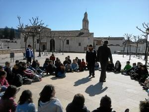 El Cabildo Viejo tiene un programa especial para grupos de escolares.