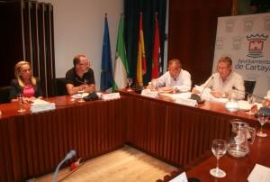 El Pleno ha aprobado los presupuestos municipales para 2013.