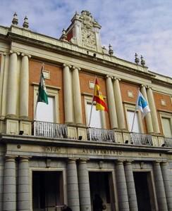 El Ayuntamiento de Huelva.