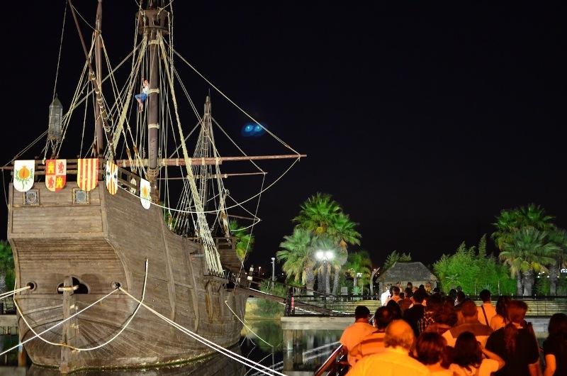 El Muelle de las Carabelas se ha convertido en uno de los espacios 'estrella' dentro de la riqueza turística de Huelva.