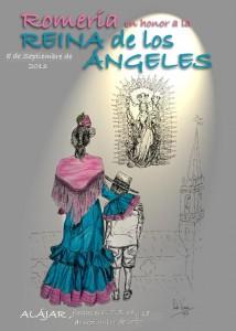 Cartel de la Romería de la Reina de los Ángeles de Álajar.