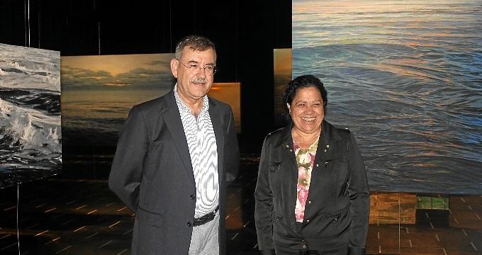 Más de 2.000 personas visitaron este verano la muestra 'Tránsito de la luz', de Enrique Romero Santana, en Las Cocheras del Puerto