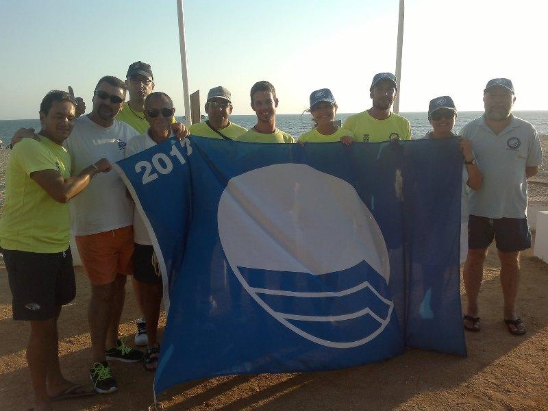 Clausurado el operativo de socorrismo de la playa del Parador de Mazagón