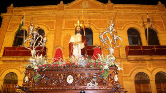 Procesión extraordinaria de Ntro. Padre Jesús Cautivo en San Juan del Puerto
