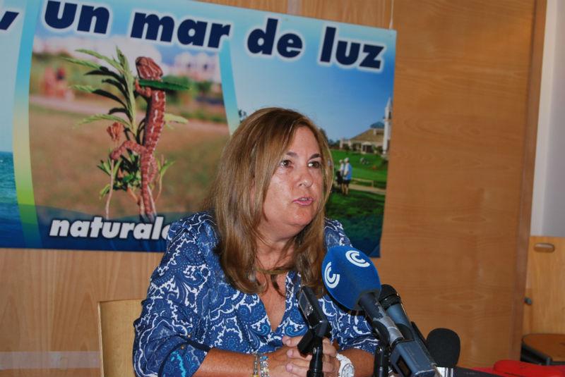 Isabel López, durante la presentación del Día Mundial del Turismo.