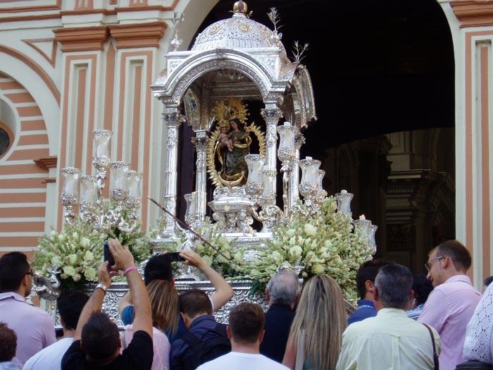 Isla Cristina estará presente en los actos programados en honor a la Virgen de la Cinta