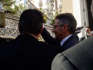 El rector, Francisco Ruiz, hizo una 'levantá'.