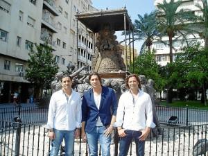 Enrique, Luciniano y Jesús son los componentes de Los Monje.