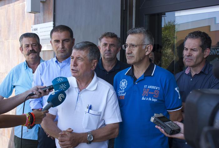 Declaraciones de los miembros de la Plataforma tras la reunión.