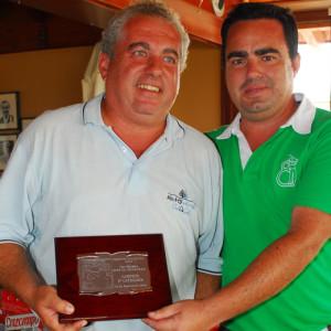 Rafael Rivas, nuevo líder del Circuito Atlántico de Golf.