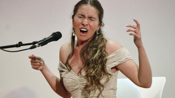 Rocío Márquez, dintinguida con la VIII Cátedra de Flamencología