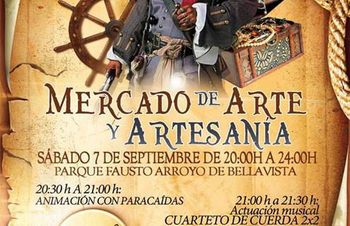 Aljaraque acoge este fin de semana un Mercadillo de Arte y Artesanía