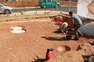 Se han encontrado nuevas tumbas en la necrópolis.