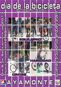 La Fiesta de la Bicicleta se celebrará el 6 de septiembre.