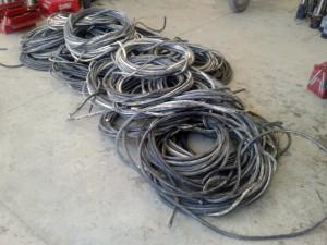 Cable robado en Calañas.