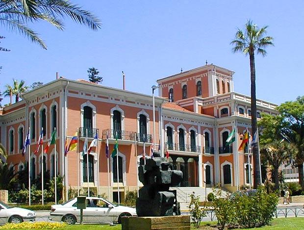 Casa Colón de Huelva, lugar donde se ubican las instalaciones de Huelva TV.