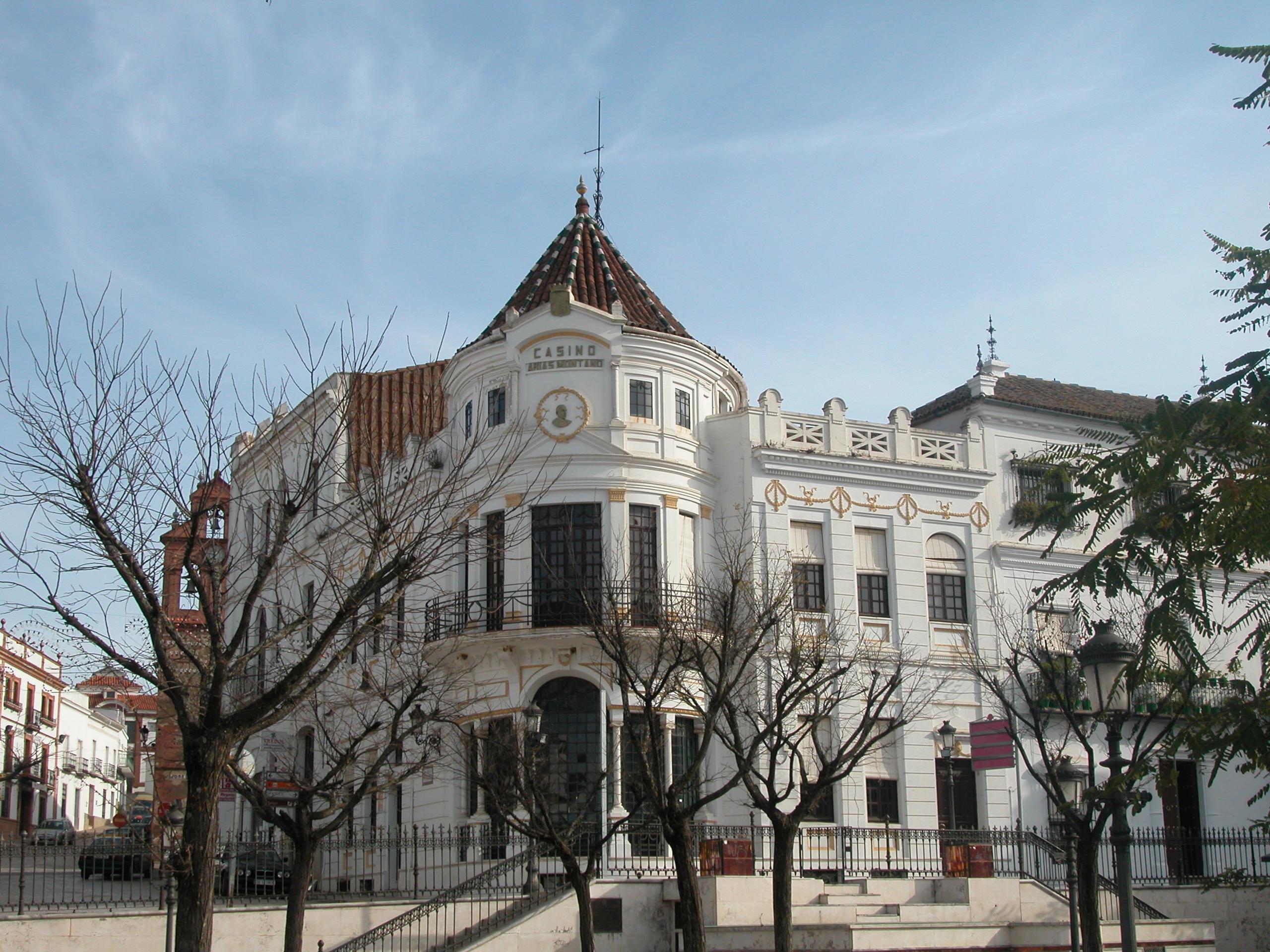 Casino de Aracena. / Foto: IAPH.