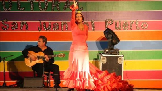 El I Festival Flamenco pone punto y final a la Semana Cultural de San Juan del Puerto
