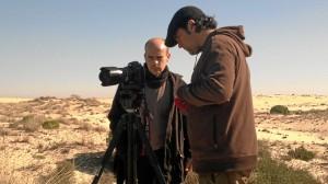 Rodaje del documental en Doñana.