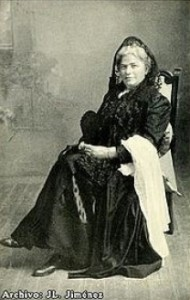 La dama inglesa Elena Whishaw.