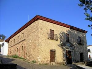 El edifico del Cabildo Viejo se encuentra en el municipio de Aracena.