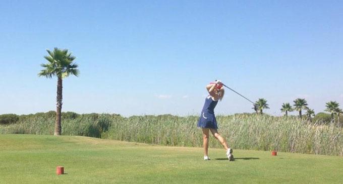 Huelva se presenta en el Open de Holanda como destino privilegiado para jugar al golf en invierno