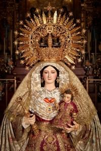 Virgen del Valle, patrona de Hinojos.